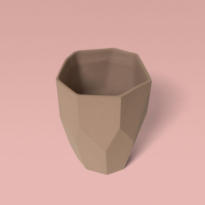 Mug Kaolin rose