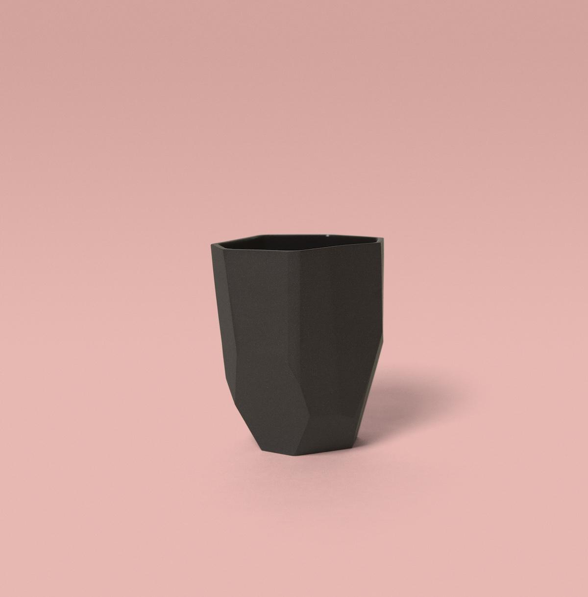 Mug Kaolin noir