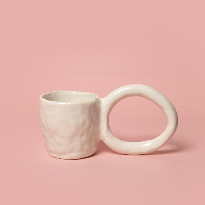 Mug donut crème