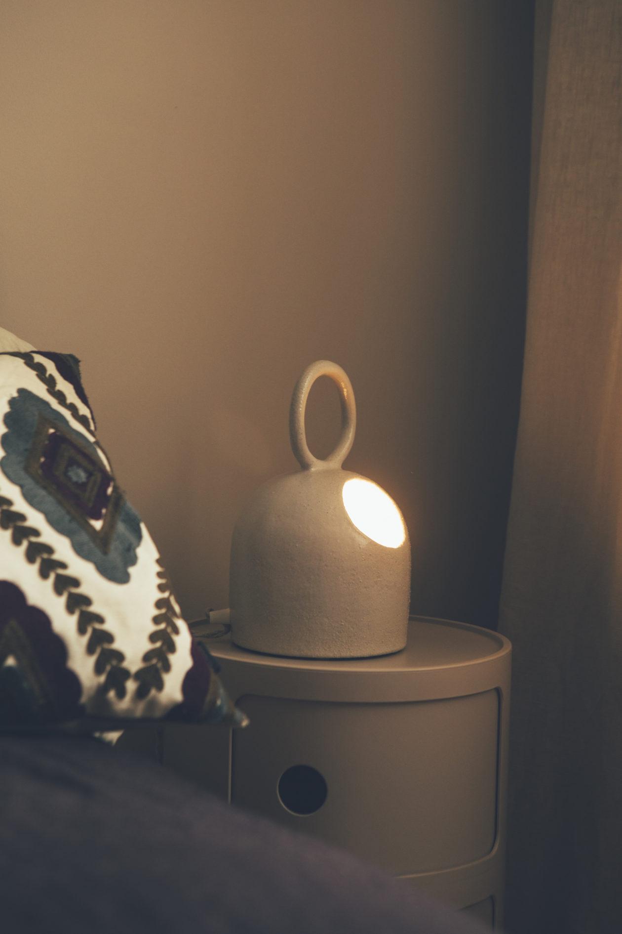 lampe bulle exploreur blanc émaillé