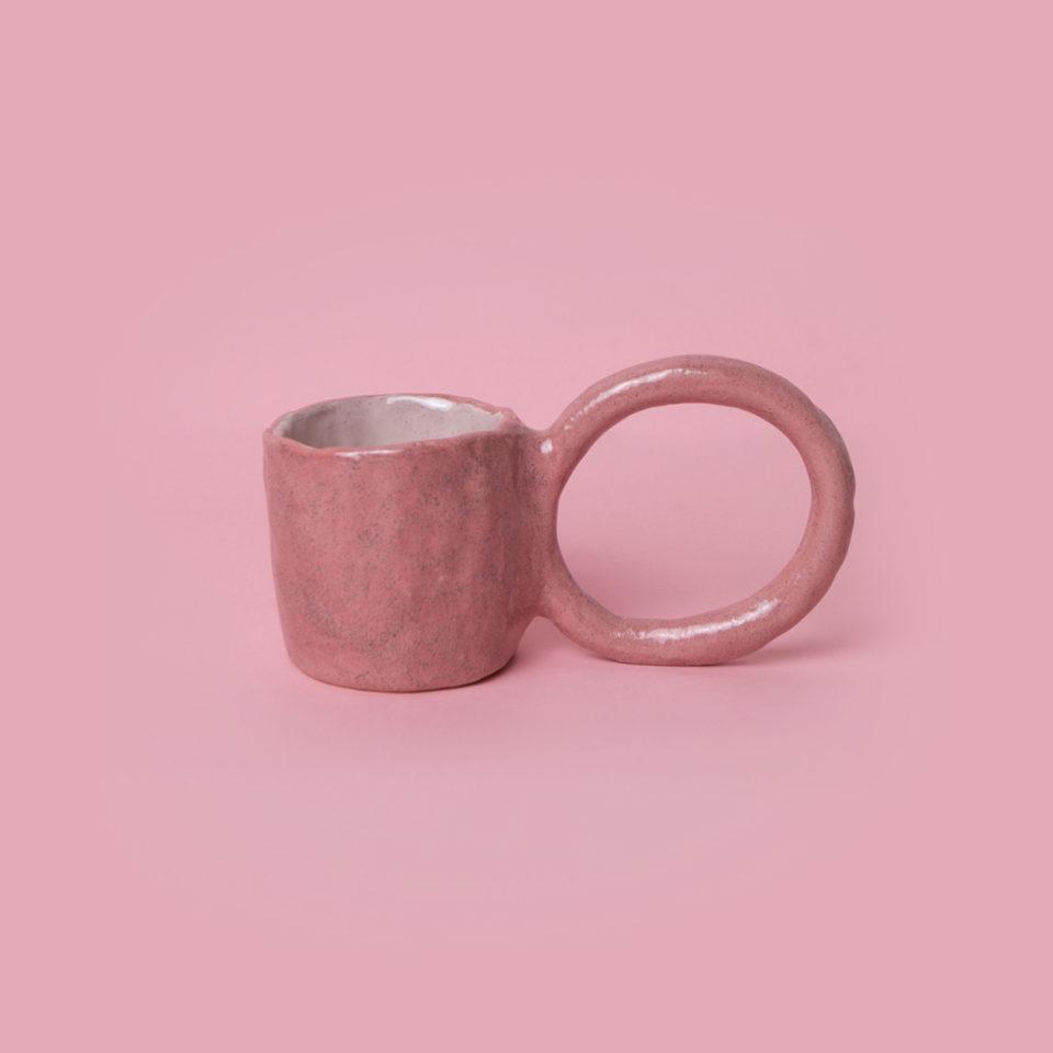 Mug Donut myrtille