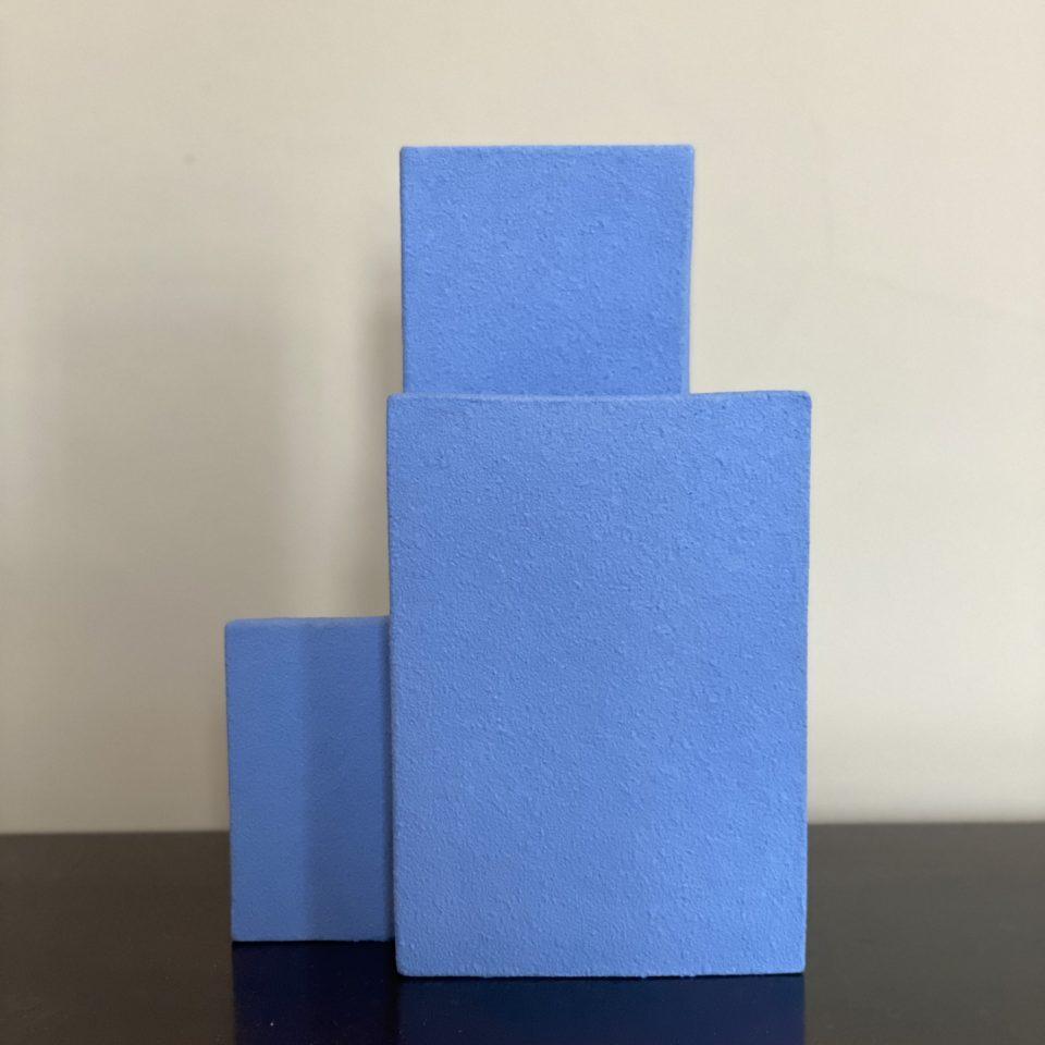 vases block S bleu foncé