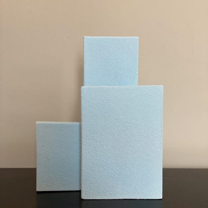 vases block S bleu clair