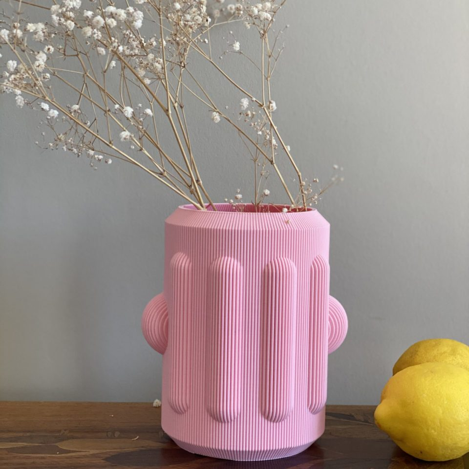 vase peru rose