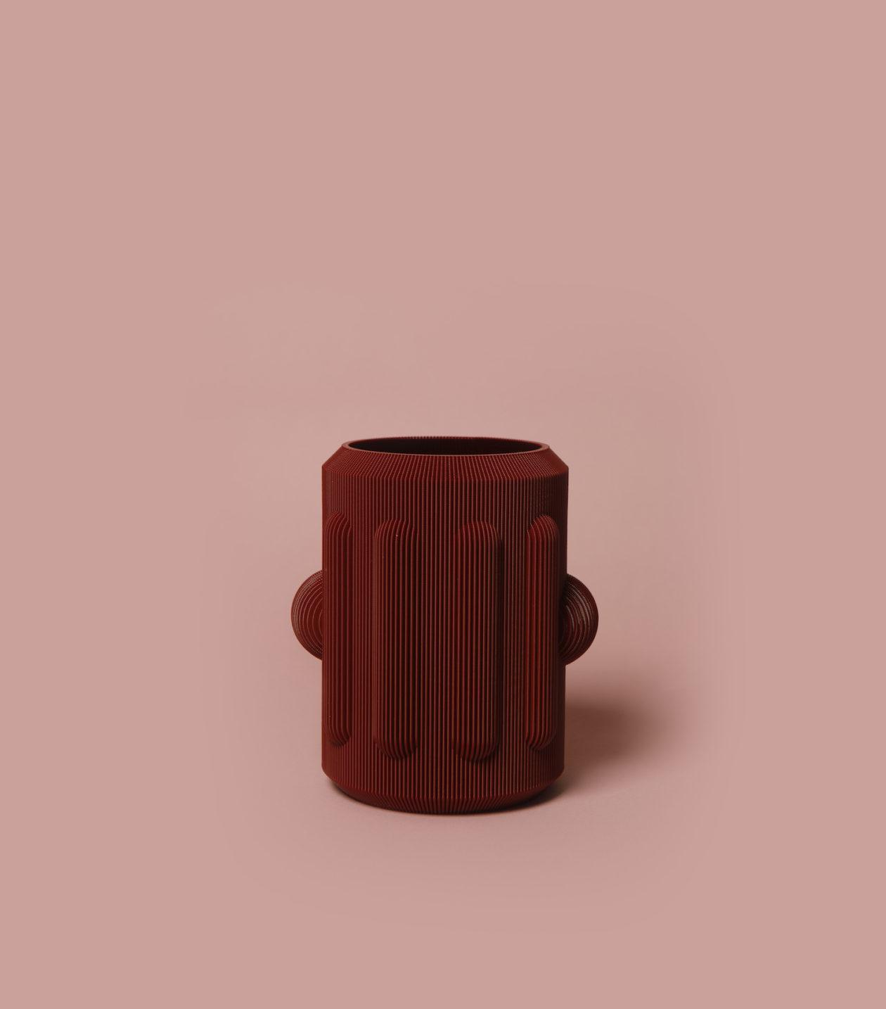 vase peru bordeaux