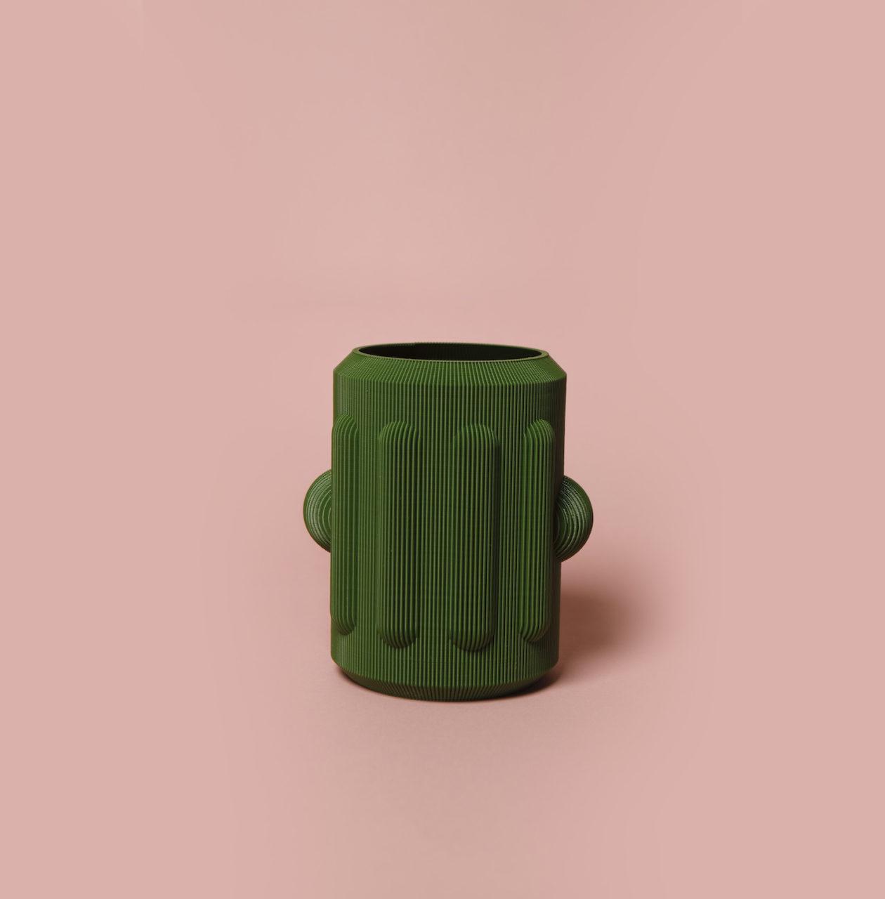 vase peru vert
