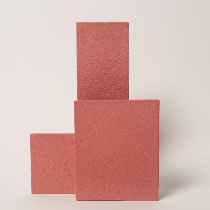 vase block M rose