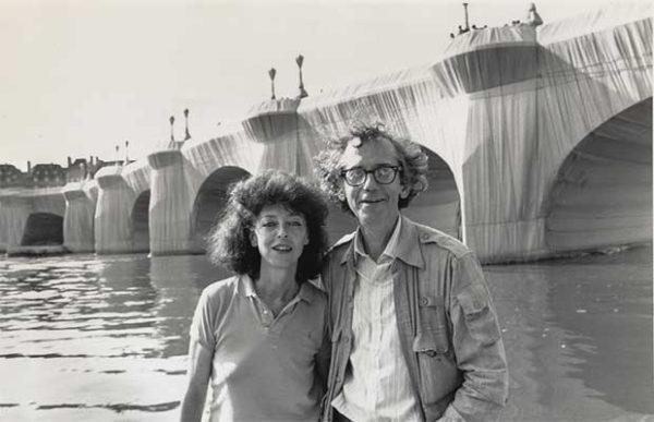 portrait Christo et jeanne claude