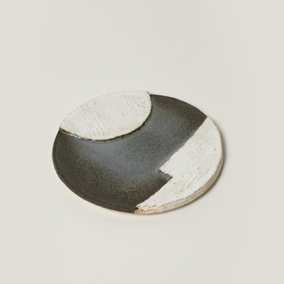 assiette orb blue 2 motifs