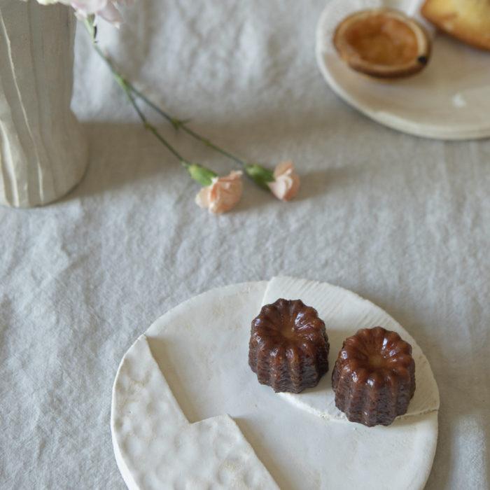 assiette ORB blanche 2 motifs