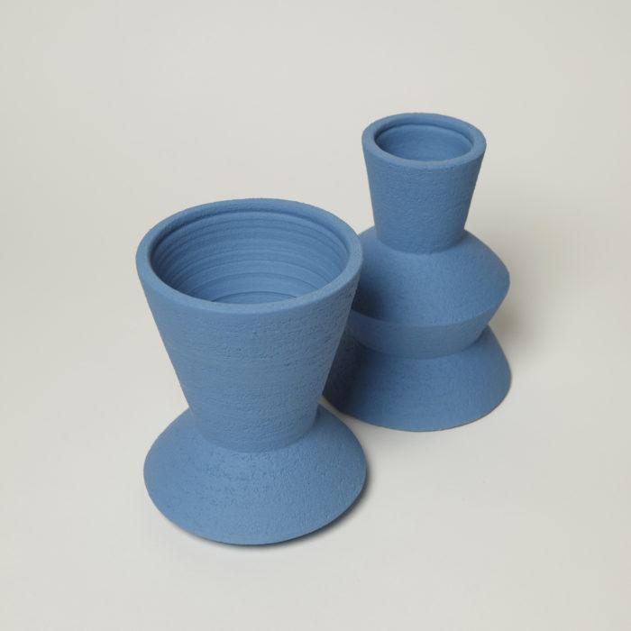 Pot LB2 grand bleu