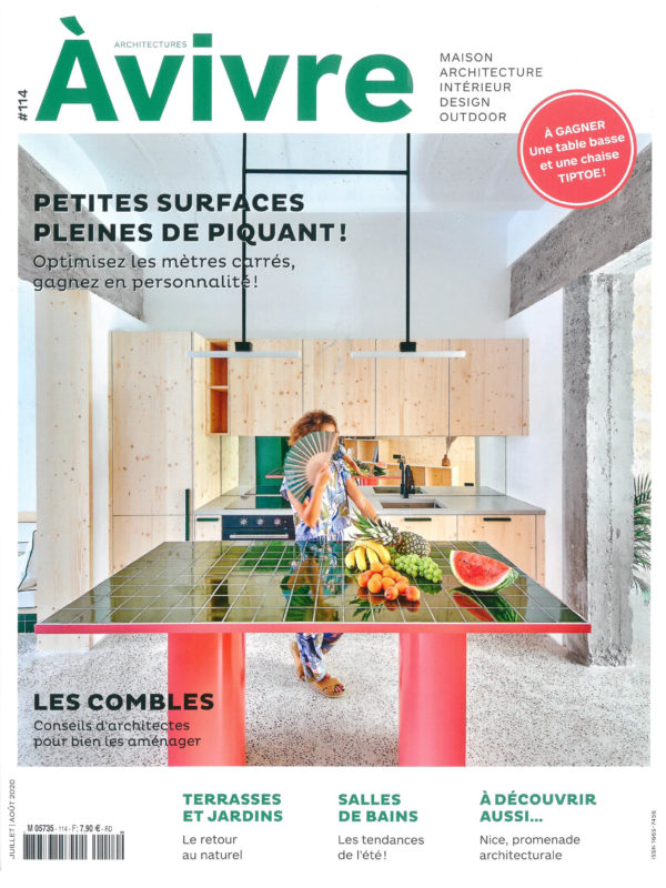 2020_07@ARCHITECTURES A VIVRE_FRANCE_COUV