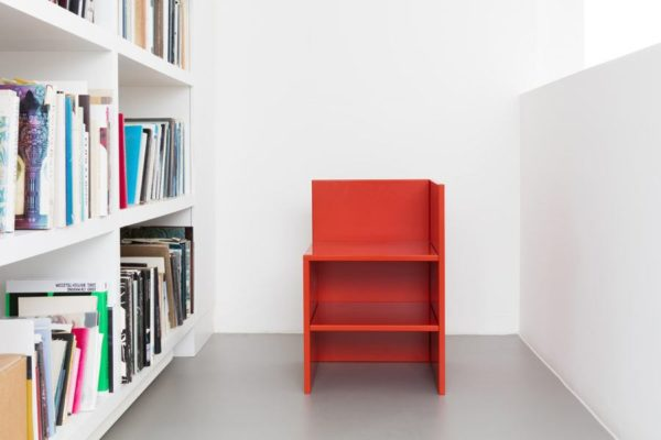 corner chair donald judd