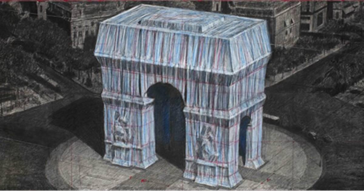 Christo_Arc_de_Triomphe