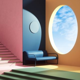 • I N S P I •  Inspiration by Peter Tarka 🙌  #colorfulinterior #architecture #pastel #color #interieurdesign #interiordesign #interiordecor #interieurscolorés #inspiration #decoration #interiordecor #inspirationoftheday #interiorinspiration #architecture